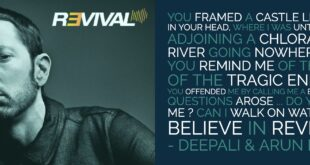 A Poem Tribute to Eminem's New Album Revival By Deepali & Arun Pandit Eminem Revival Tribute By Deepali Arun Pandit