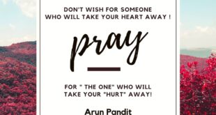 Quote on Love , Heart & Hurt By Arun Pandit Quote on Love Heart Hurt By Arun Pandit