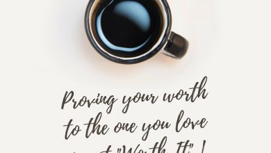 Photo of Quote on Proving your Worth to your Love by Arun Pandit