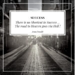 Quote on the Death & Dreams by Arun Pandit Quote on Road to Success Hell by Arun Pandit