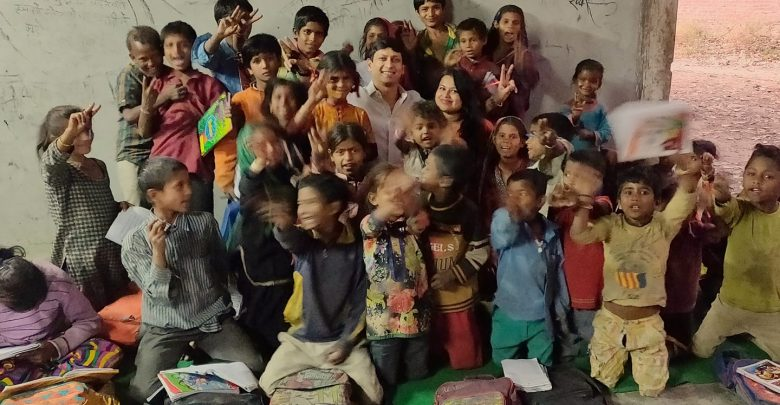 Photo of Ayushi Sood Initiative to teach kids from slums in Kullu , Himachal Pradesh