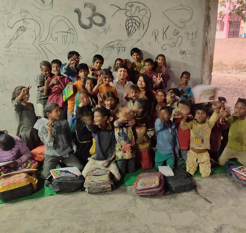 Ayushi Sood Initiative to teach kids from slums in Kullu , Himachal Pradesh Ayushi Sood Initiative to teach kids from slums in Kullu Himachal Pradesh