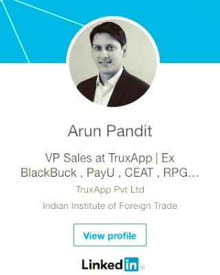 Photo of Linkedin 5000+ Connections Arun Pandit