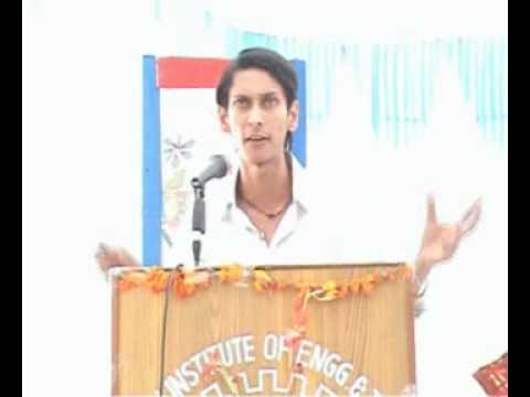 Photo of India Marching Forward : A Speech by Arun Pandit