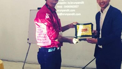 "Photo of Guest Speaker on ""How to be a Winning Salesperson "" at Xuberance by Zee5 & Xpress Minds : Arun Pandit"