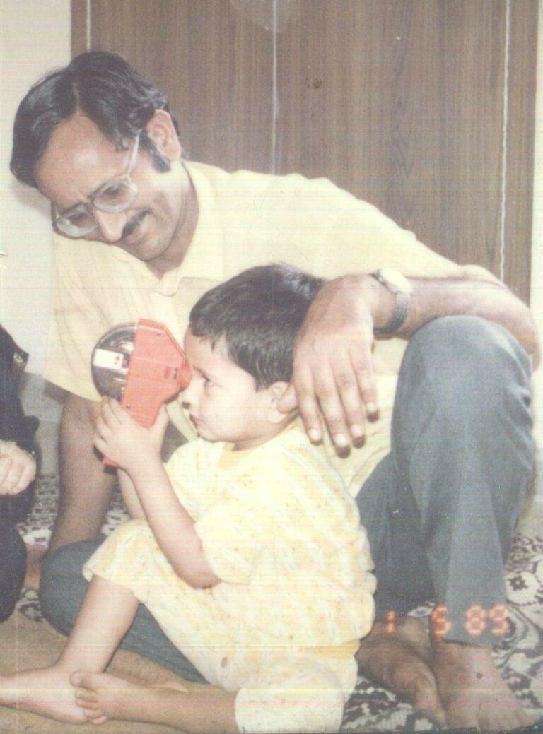 Father's Day True Story : Dil Me Jagah honi Chahiye by Arun Pandit Arun Pandit son of Bhag Singh