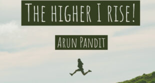 Quote on Falling Hard and Rising Higher by Arun Pandit Quote on Falling Hard and Rising Higher by Arun Pandit