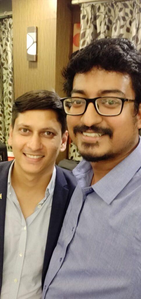 Love Conquers all , even Cancer : The Inspiring Story of NITIE Alumni Abhishek & Pooja Abhishek Dutta Arun Pandit Loadshare Networks 1