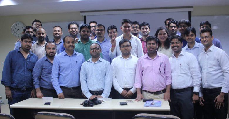 Photo of Arun Pandit Guest Speaker at Drona Leadership Talk Series at NITIE Mumbai