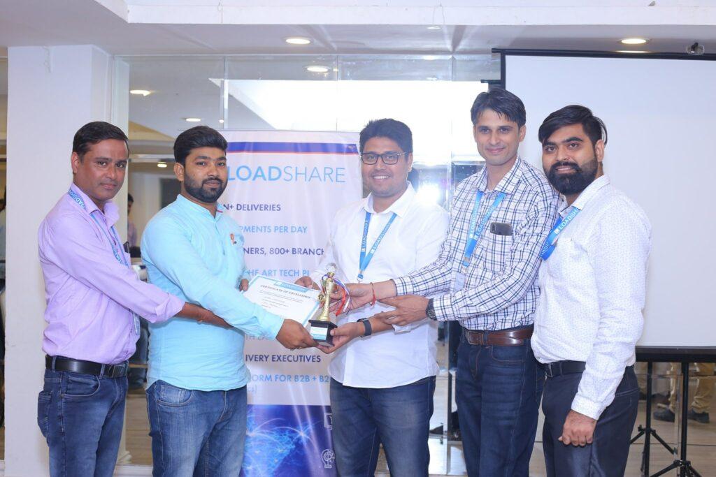 Glimpses of the LoadShare Networks Pvt Ltd North Partners Meet Loadshare network North Partners meet 11