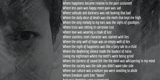 Demons Inside : Motivational Dark Poem by Arun Pandit