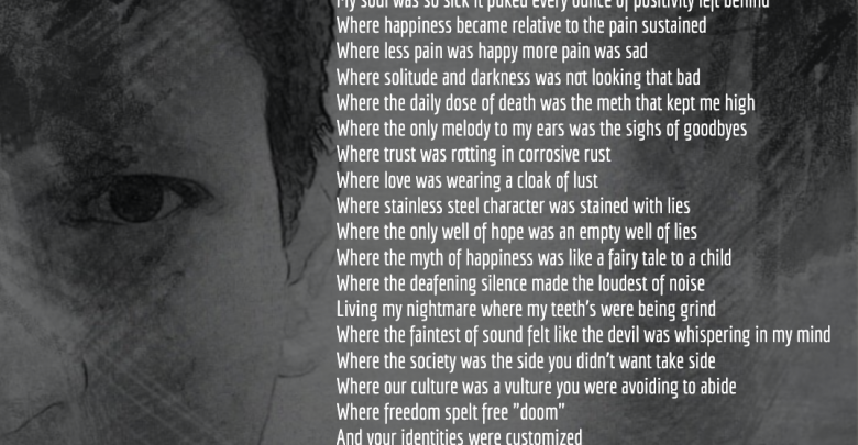 Photo of Demons Inside : Motivational Dark Poem by Arun Pandit