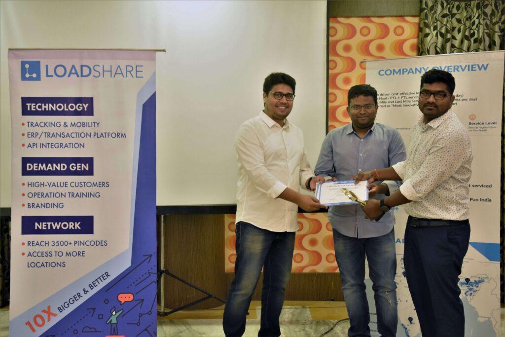 Snapshot of the LoadShare Networks Pvt Ltd East Partner Meet Loadshare network east partner meet 10
