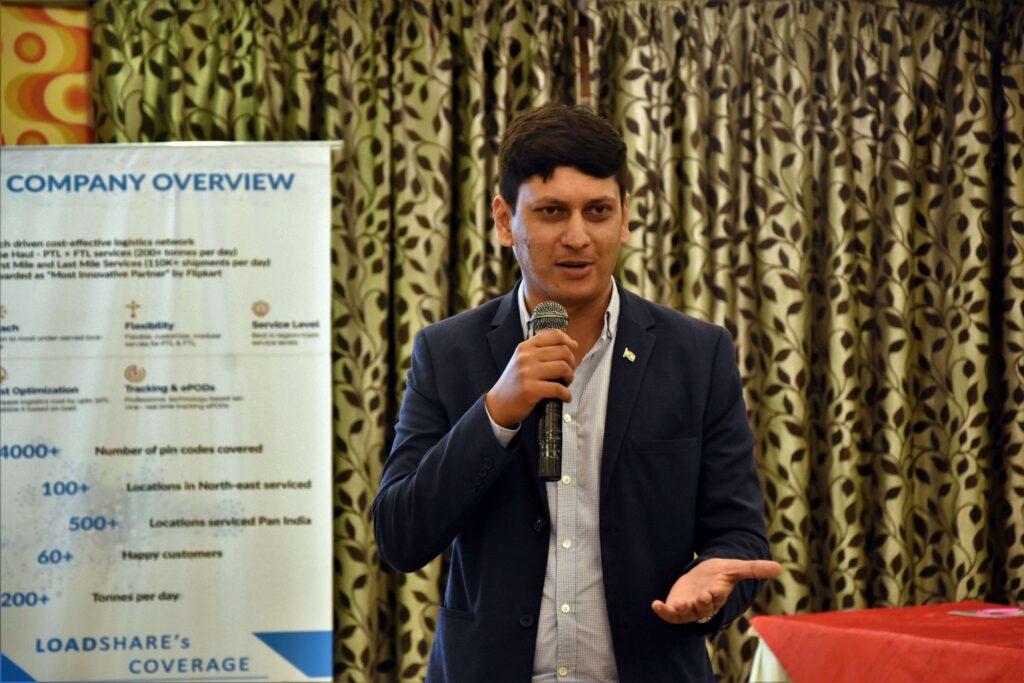 Snapshot of the LoadShare Networks Pvt Ltd East Partner Meet Loadshare network east partner meet 2