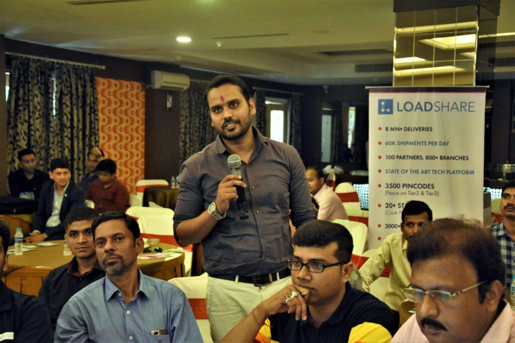 Snapshot of the LoadShare Networks Pvt Ltd East Partner Meet Loadshare network east partner meet 3