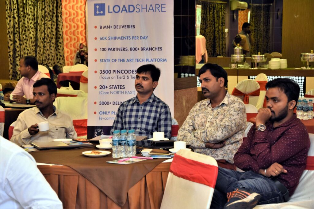Snapshot of the LoadShare Networks Pvt Ltd East Partner Meet Loadshare network east partner meet 4