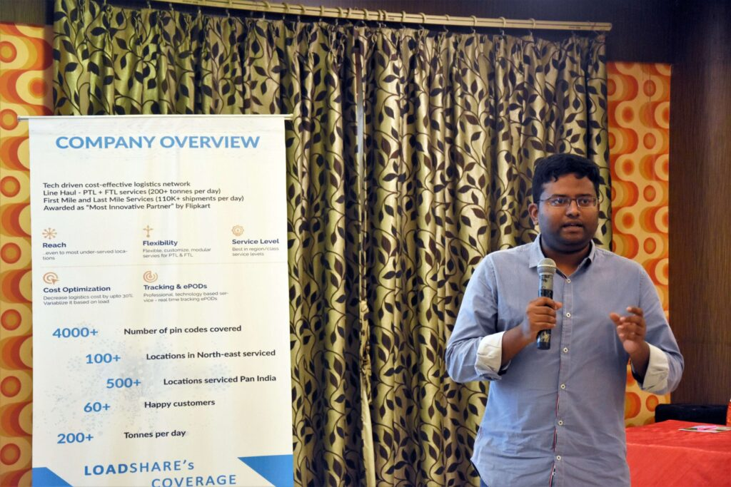 Snapshot of the LoadShare Networks Pvt Ltd East Partner Meet Loadshare network east partner meet 6