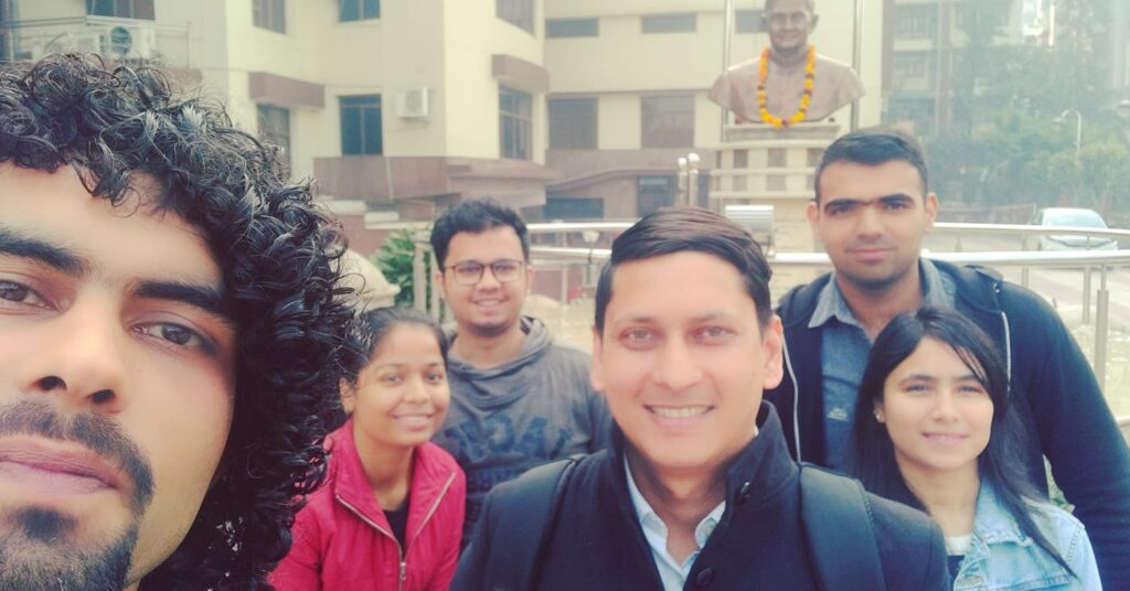 Guest lecture at Lal Bahadur Shastri Institute of Management : Arun Pandit guest lecture at Lal Bahadur Shastri Institute of Management