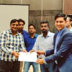 Infographics Arun Pandit Head of Sales ( B2B) Loadshare Networks 1 year Work Anniversary Amazon Partners Meet Recognition for Loadshare Networks
