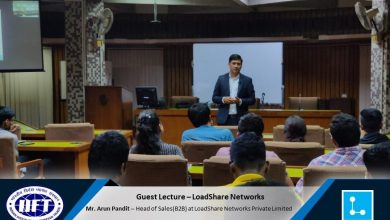 Photo of IIFT Guest Lecture on Logistics & Supply Chain by Arun Pandit
