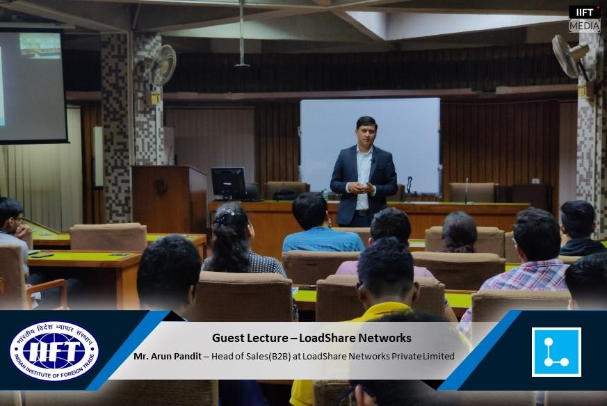 IIFT Guest Lecture on Logistics & Supply Chain by Arun Pandit Arun Pandit IIFT Guest Lecture Logistics SCM LSN