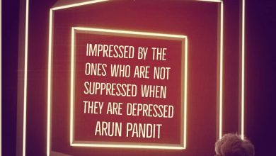 Photo of Impressed , Suppressed & Depressed Quote by Arun Pandit