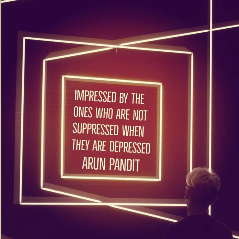 Impressed , Suppressed & Depressed Quote by Arun Pandit Impressed Supressed Depressed quote by Arun Pandit