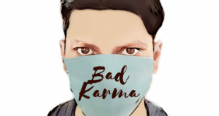 Karma Quote : There's no mask for bad karma - Arun Pandit Karma Quote No mask for Bad Karma by Arun Pandit