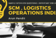 Interview Questions for Operations , Logistics , SCM related profiles & 50+ Job Links
