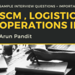Candid by CATaPult : A webinar with Arun Pandit Logistics SCm Operations Jobs Interview Questions