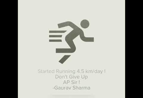 Creating Impact : Amazing Journey of Gaurav Sharma - Fat to fit amazing journey of dont give up 480x330 1