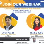 Future of Branding Webinar by Planotech Media House: Arun Pandit Arun Pandit Future of Branding Plantech Media 10th June 2020