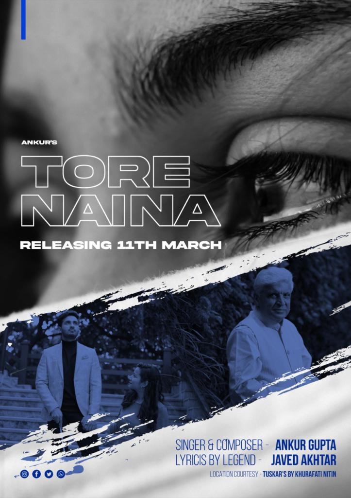 Video Launch of Tore Naina Singer Ankur Gupta & Lyrics Javed Akhtar
