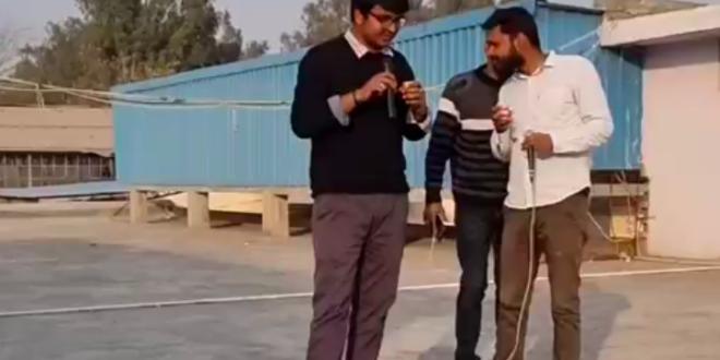 Abhishek Deswal Hindi Shayari on Arun Pandit