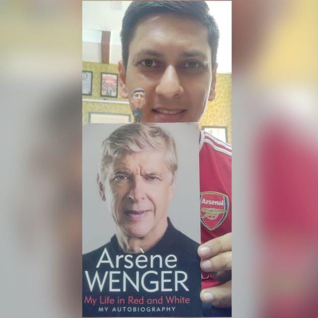 Arsene Wenger Autobiography: My Life in Red & White