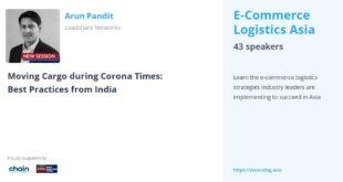 E-Commerce Logistics Asia Speaker 2020