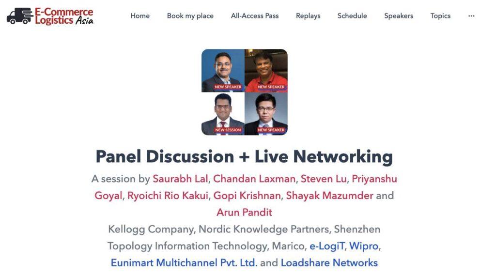 Elog Asia Panel Discussion