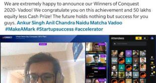 "Mentor of Team Vadoo ""Conquest 2020"" Winner"