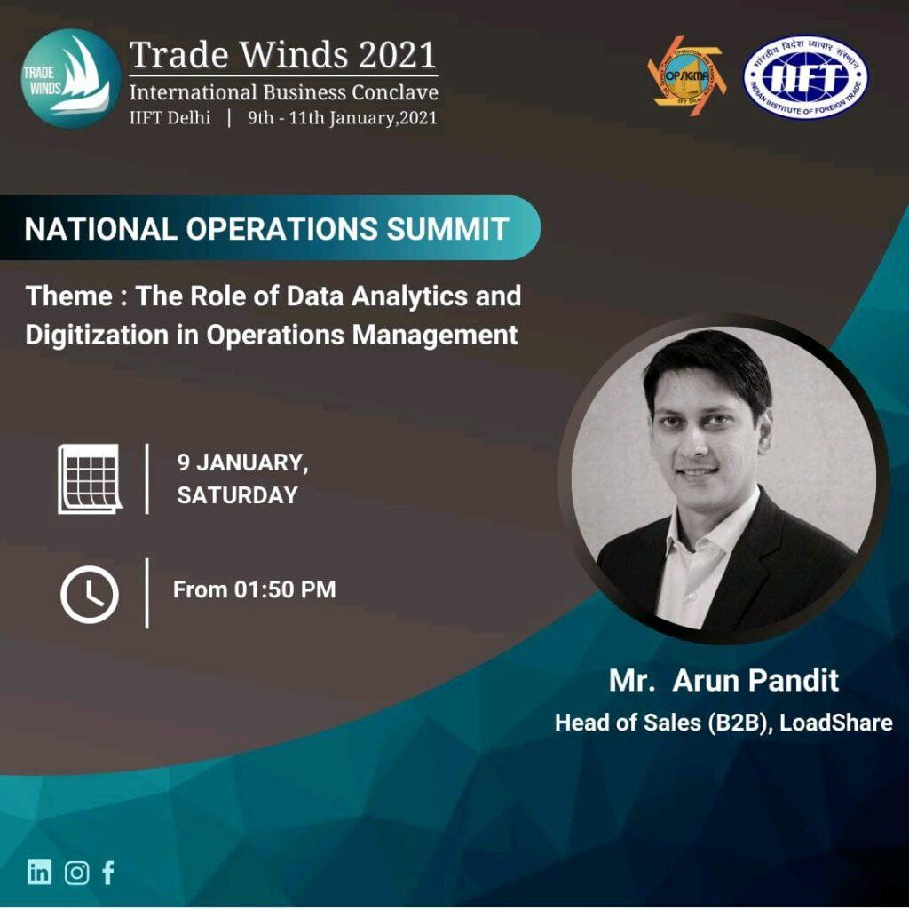 OpSigma IIFT Guest Speaker Arun Pandit