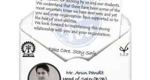 VGSOM IIT Kharagpur Thank you Letter